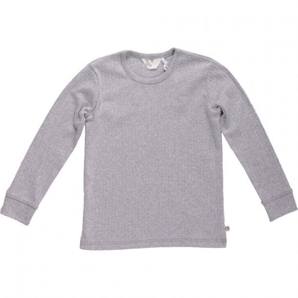 Müsli langærmet trøje Cozy - gråmeleret