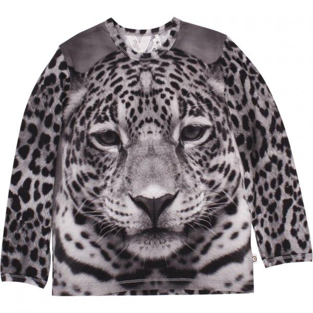 Müsli trøje - spicy leopard - gråmeleret