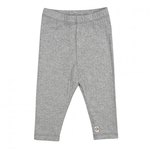 Müsli leggings Cozy gråmeleret (3-7 år)