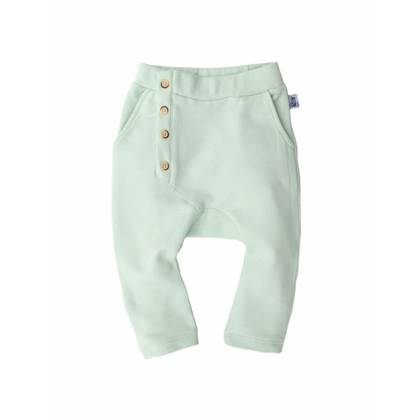 Bumble & Bee Bukser - Slouch Pants Dusty Aqua