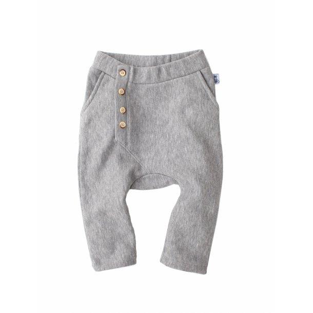 Økologiske bukser i grå - Slouch Pants - Bumble & Bee