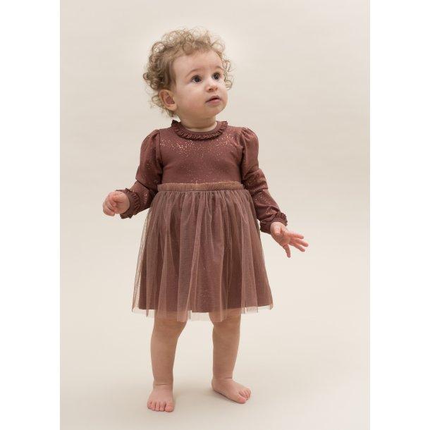 Adele Body kjole med tyl - Apple Butter Glitter kjole Little Wonders