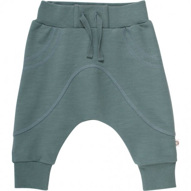 Sweatpants i grøn - Müsli by Green Cotton