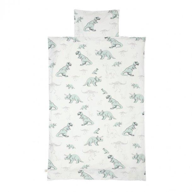 Økologisk sengetøj (voksen)- Dinosaur- royabel  (kan bestilles hjem)