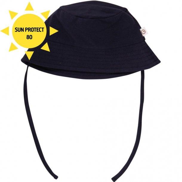 Cozy me beach hat - bøllehat i mørkeblå Müsli