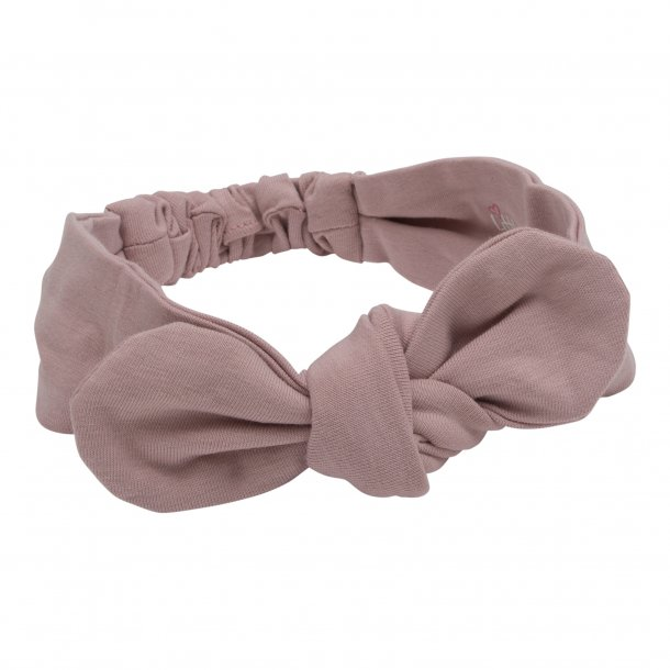 Hårbånd i jersey til børn - one size (flere varianter, støvet rosa, sort)