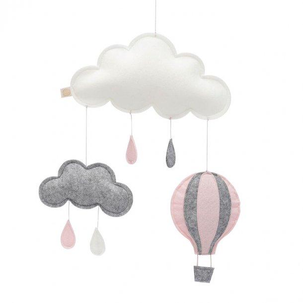 Luftballon uro i filt (rosa)- Royabel