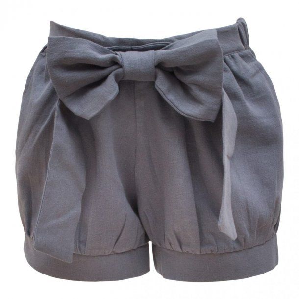 Pixie shorts i grå- (gråblå) - Little Wonders