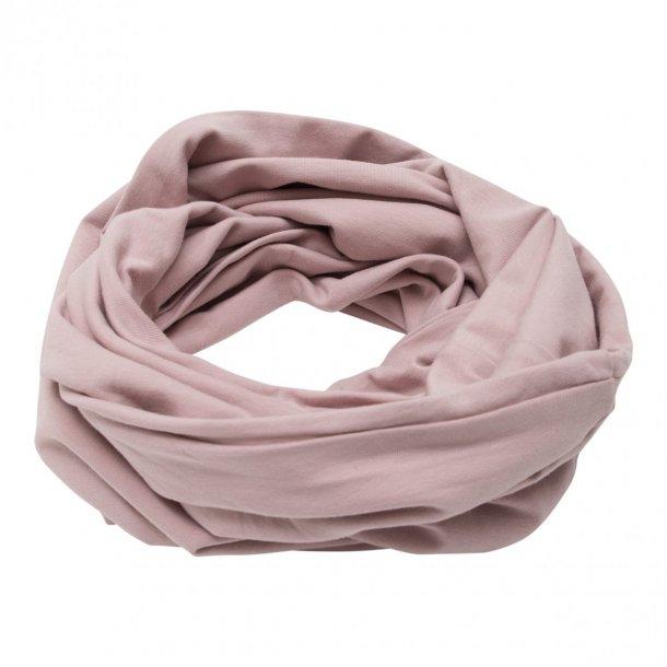 1abbe18b039 Little Wonders tube tørklæde med knapper i støvet rosa - Little ...
