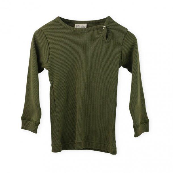 Grøn basis bluse Petit Piao