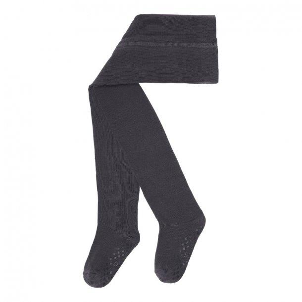 Strømpebukser med skridsikker materiale - mørkegrå - DÉT DANMARK -