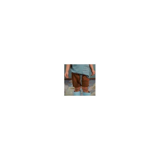 Shorts karamel farvet - Strojmisie
